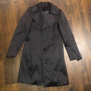 TAHARI Grey Coat